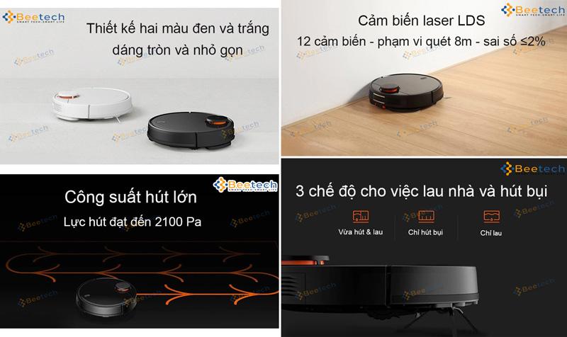 Robot hút bụi Xiaomi Mijia Gen 2