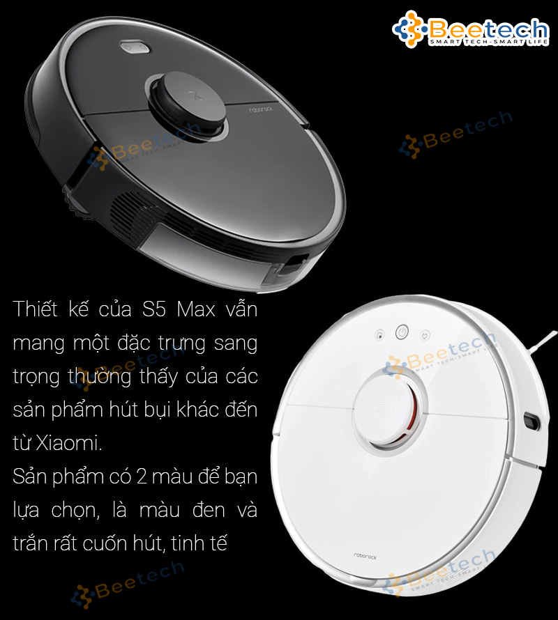 Robot hút bụi Xiaomi Roborock S5 Max