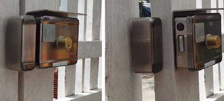 Các loại khóa cửa cổng