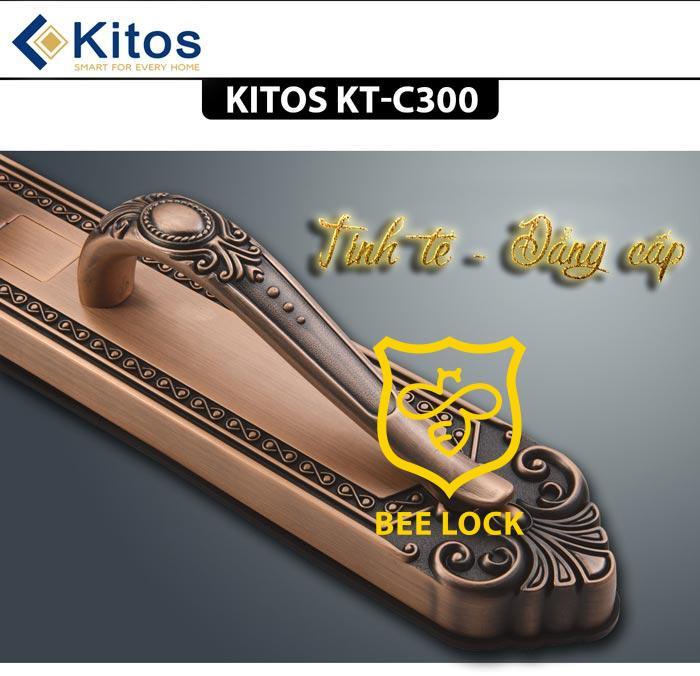 Khóa cửa vân tay cao cấp Kitos C300
