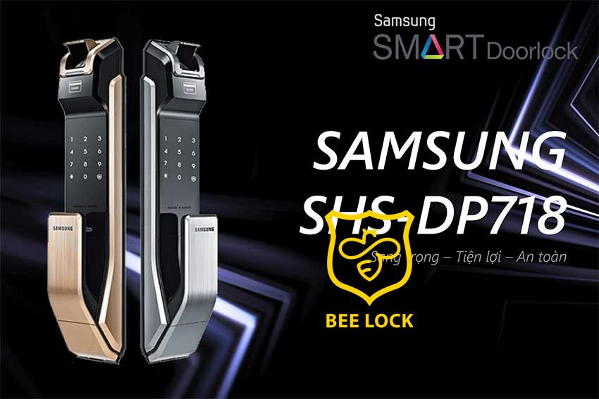 Khóa điện tử Samsung SHS P718