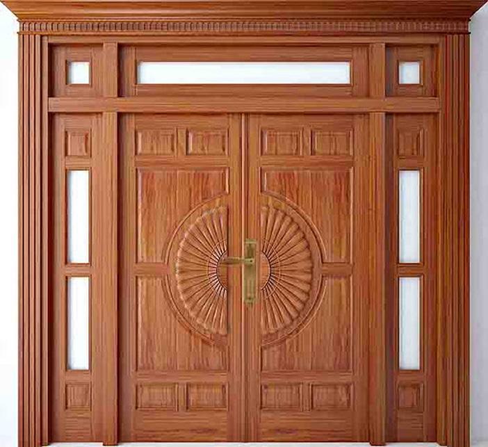 Các mẫu khóa cửa gỗ đẹp cho cửa 2 cánh, 4 cánh, cửa gỗ lùa