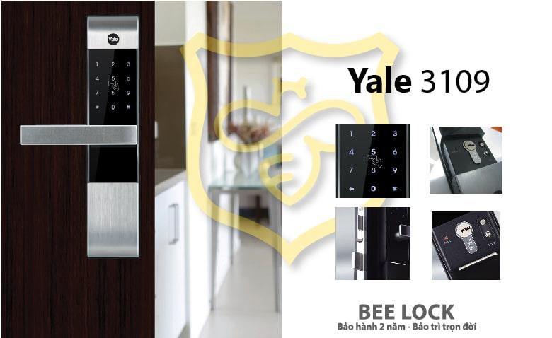 Khóa mã số thẻ từ YALE YMD 3109