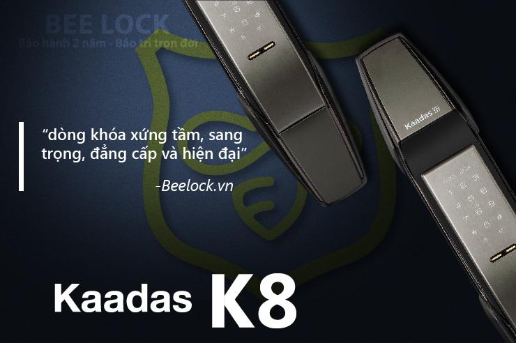 Khóa cửa vân tay Kaadas K8