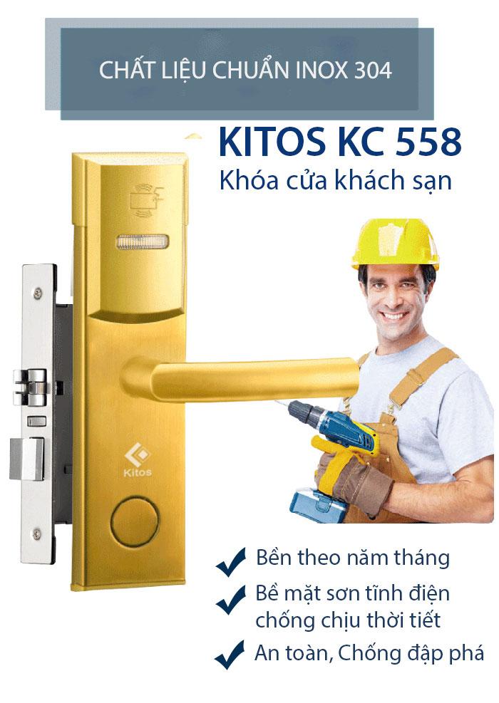 Khóa thẻ từ Kitos KC-558