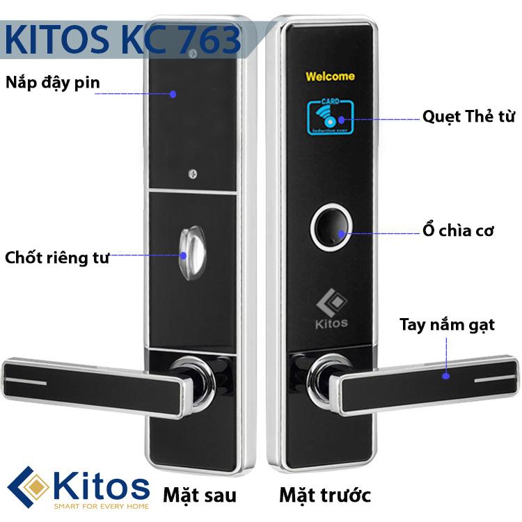 Khóa cửa từ khách sạn Kitos 763