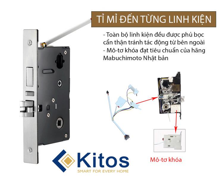 Khóa thẻ từ Kitos KC-803