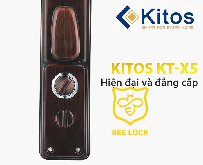 khóa cửa vân tay cao cấp kitos X5