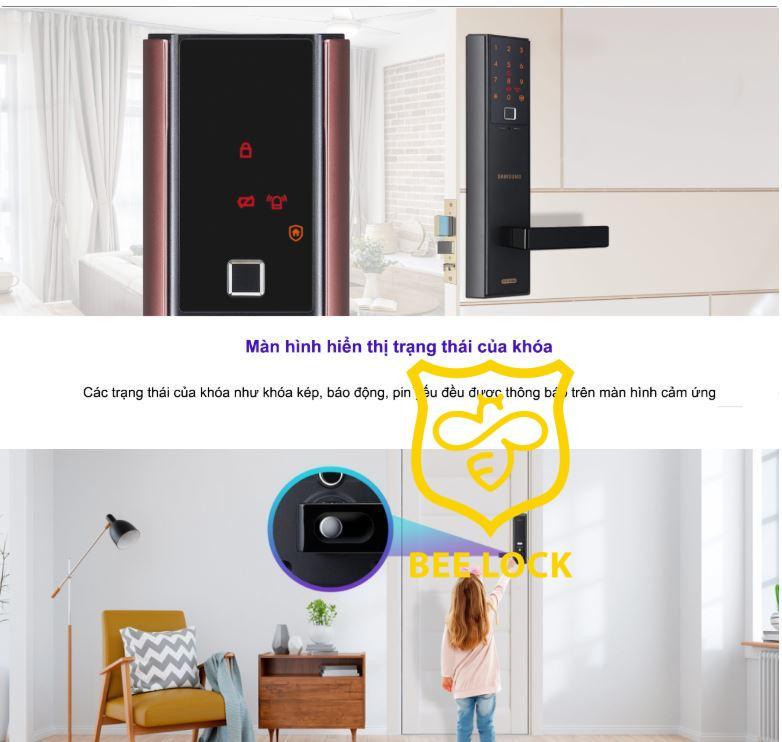 khóa cửa vân tay Samsung SHP-DH538