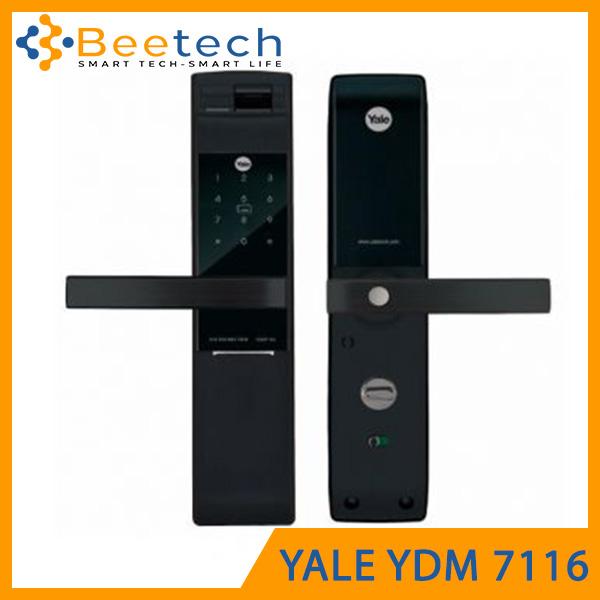 Khóa cửa vân tay điện tử Yale YDM7116