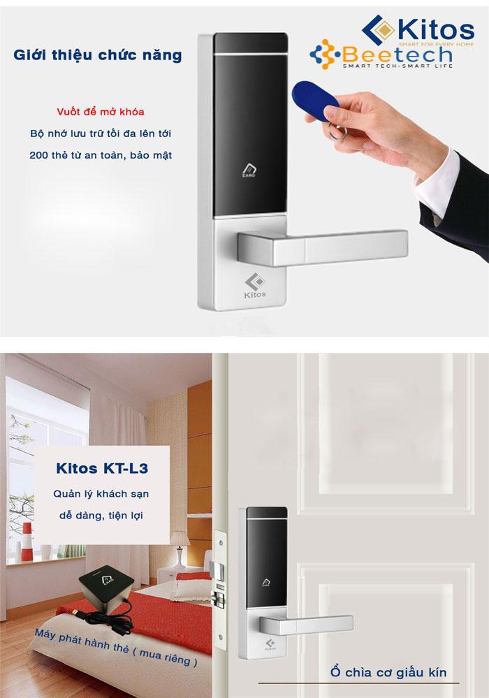 Khóa thẻ từ Kitos KC-L3