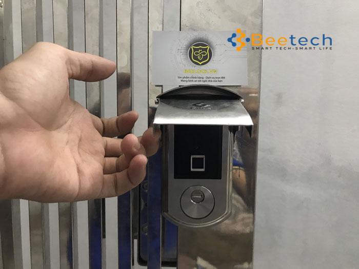 Khóa cổng sắt thông minh DL02