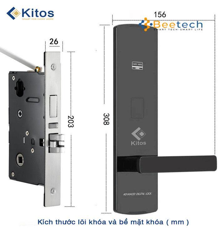 Khóa thẻ từ Kitos KC-818