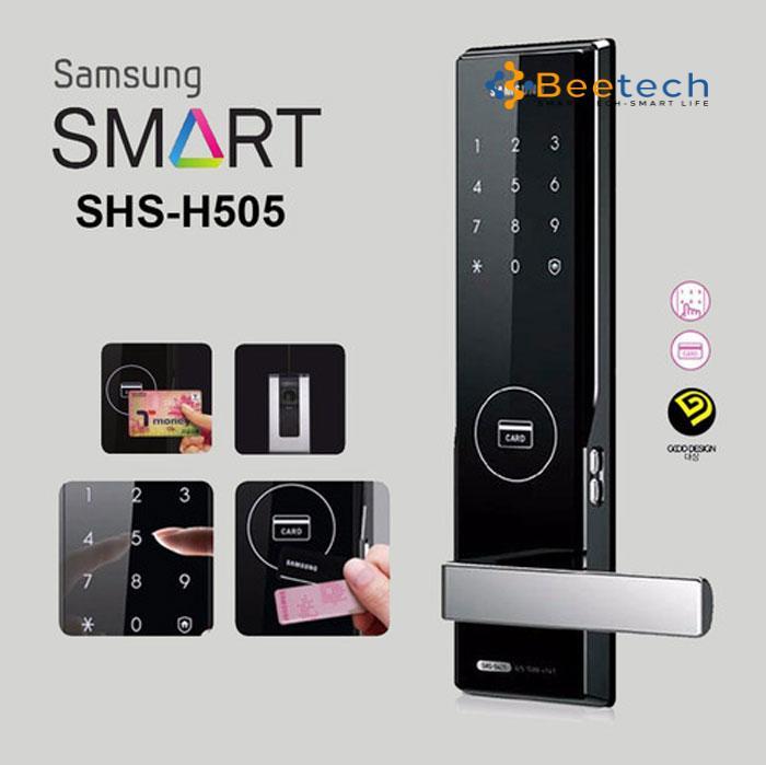 Khóa thẻ từ mã số Samsung SHS-H505