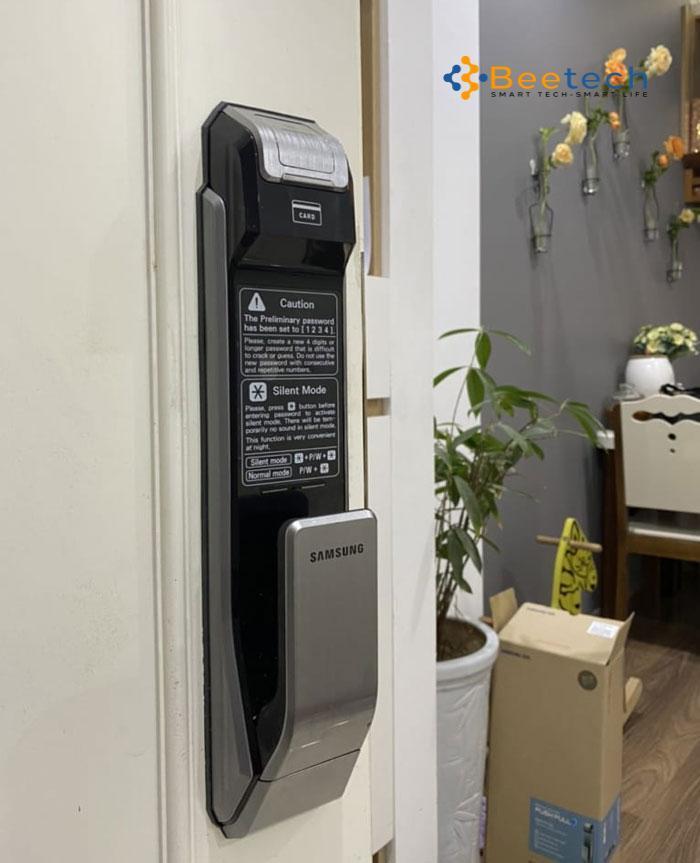 Chi tiết Khóa cửa Samsung SHS-P718