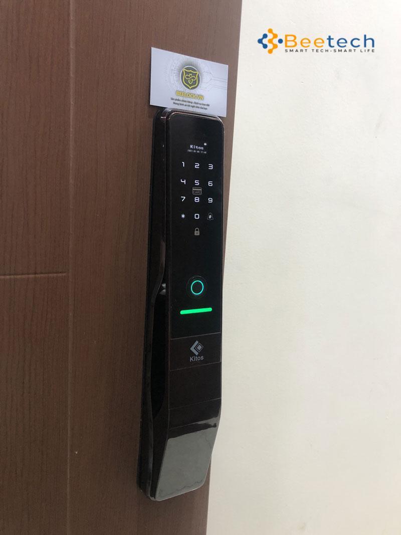 khóa từ cửa gỗ Kitos kt-p830