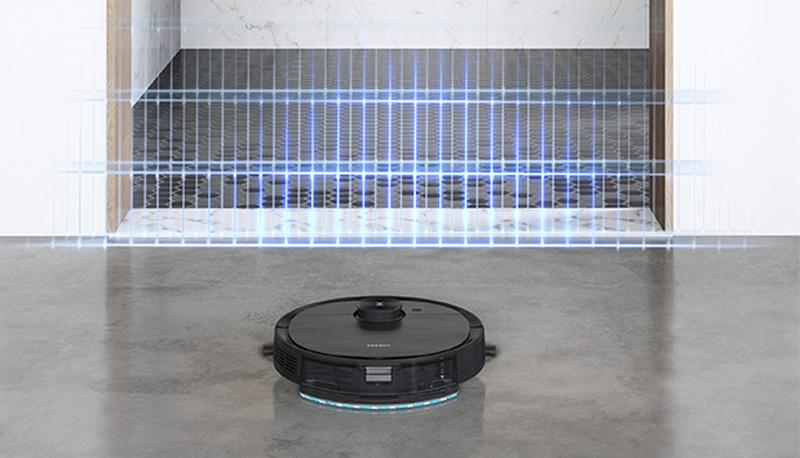 robot hút bụi lau nhà Ecovacs Deebot T8 AIVI nội địa