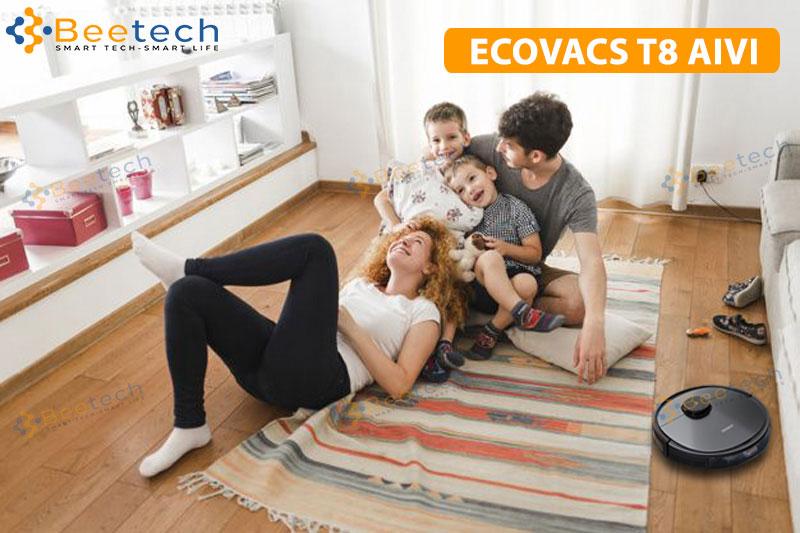 Cách sử dụng Ecovacs Deebot OZMO T8 AIVI