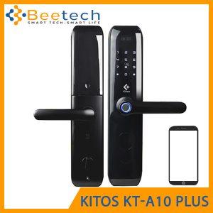 Khóa vân tay mở qua App Kitos A10 Plus