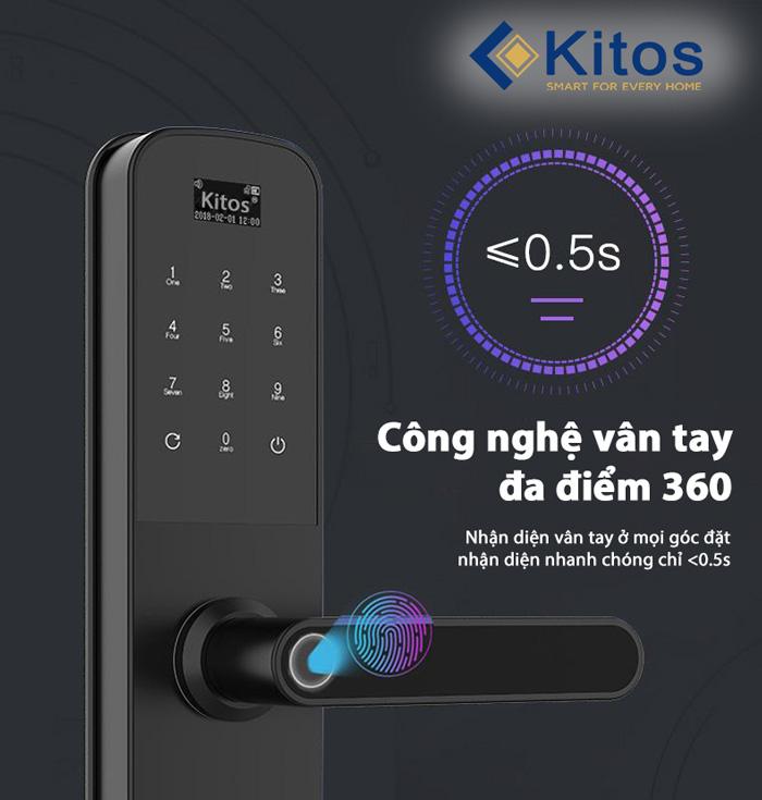 Khóa cửa vân tay Kitos G600