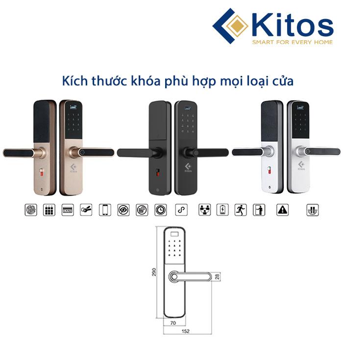 Kích thước Kitos G600