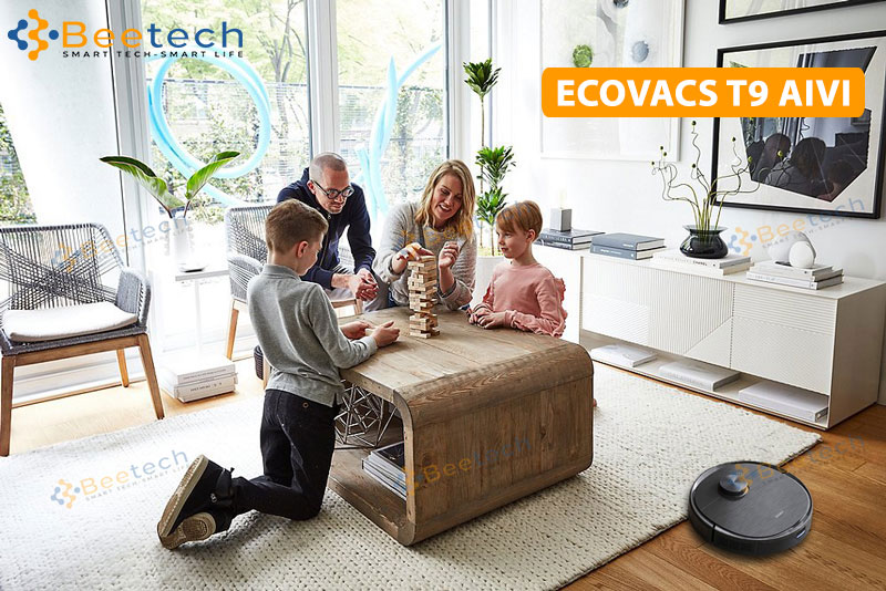 Robot hút bụi lau nhà Ecovacs Deebot T9 AIVI