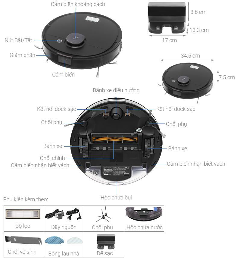 Ecovacs Deebot T8 Aivi Plus