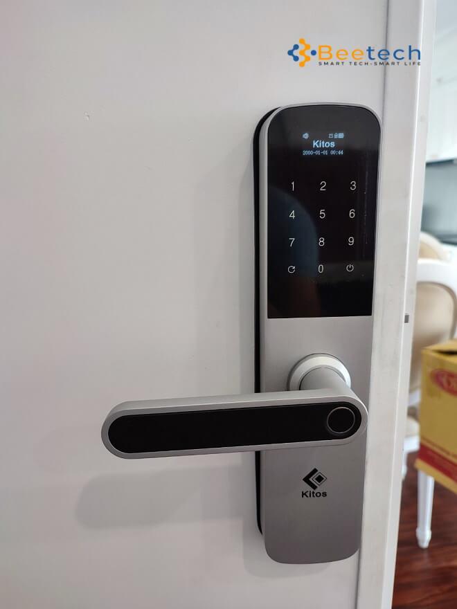 khóa vân tay Kitos G600- Ảnh thực 2