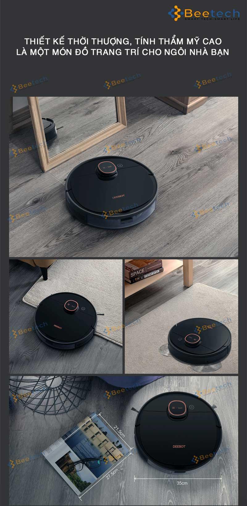 Robot hút bụi Ecovacs Deebot T5 Max