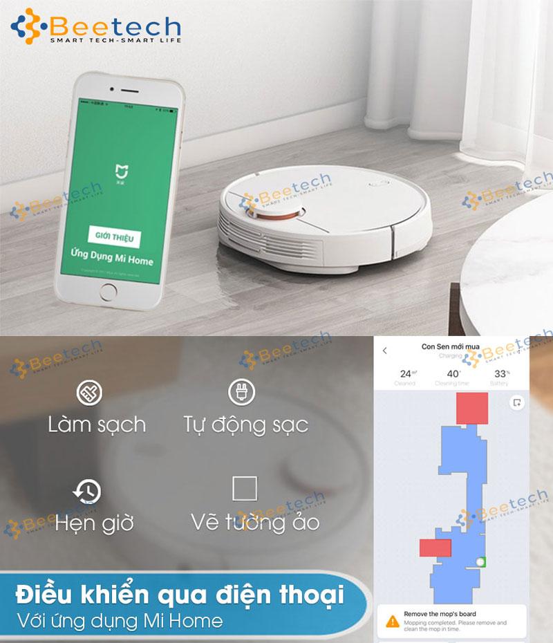 Robot hút bụi Xiaomi Mi Vacuum Mop SKV4093GL