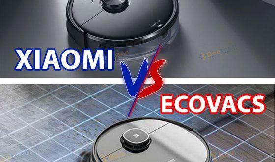 So sánh robot hút bụi Xiaomi và Ecovacs loại nào tốt nên dùng?