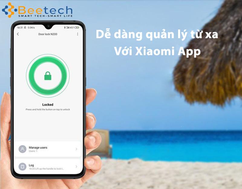 App Mihome Khóa cửa vân tay Xiaomi Aqara N200