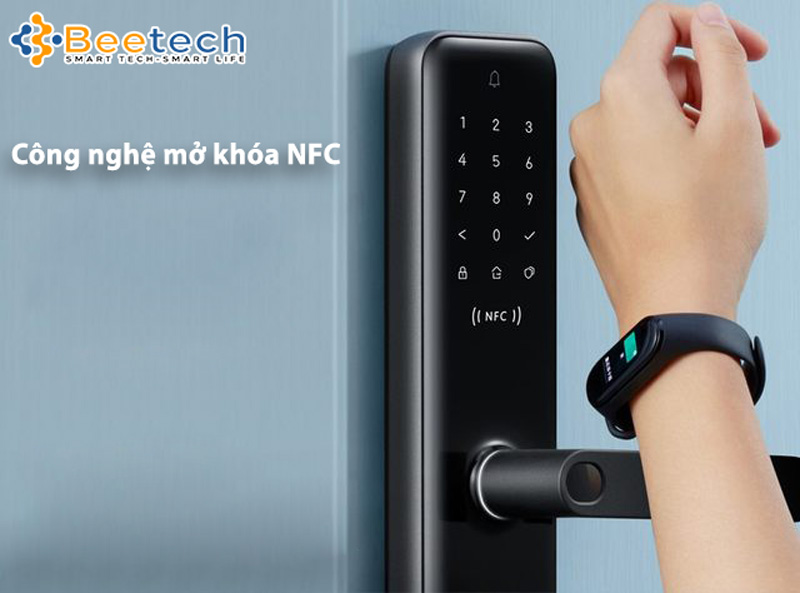 Khóa cửa vân tay Xiaomi Aqara N200 NFC