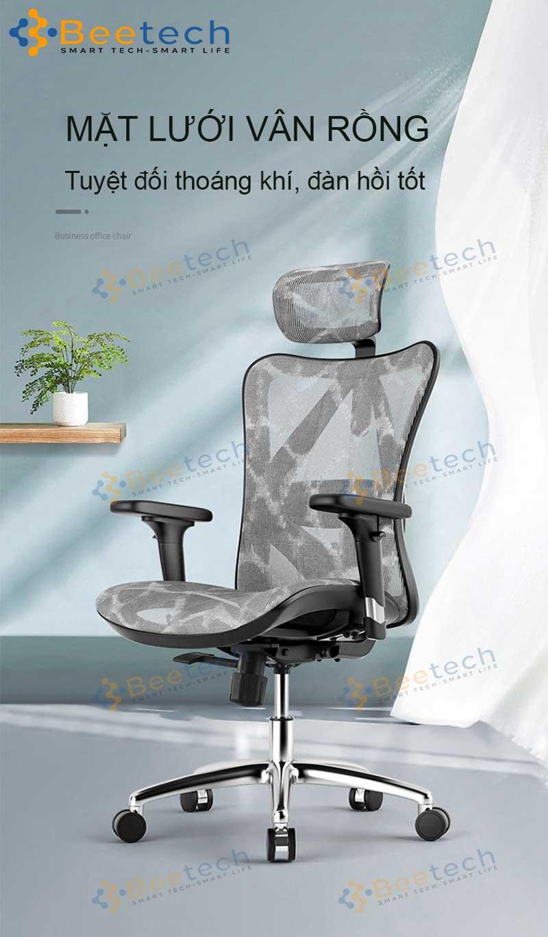 ghế ergonomics công thái học Sihoo M57