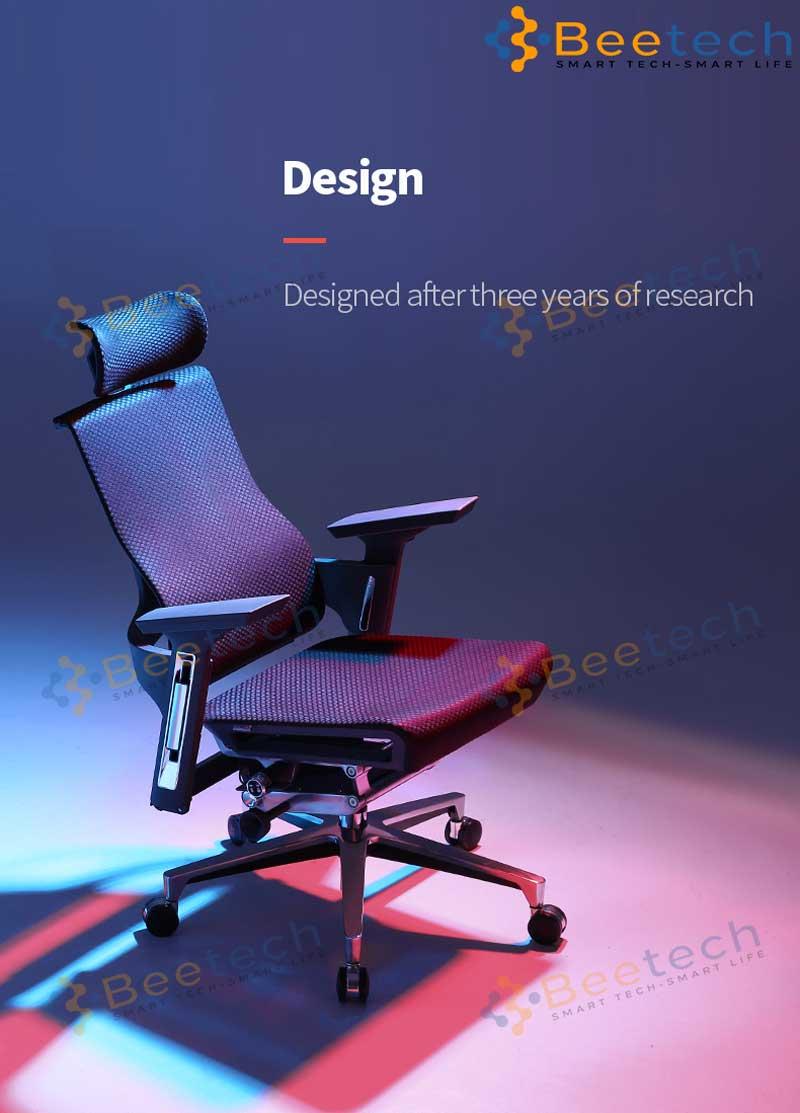 ghế công thái học Ergonomic gaming Sihoo R1