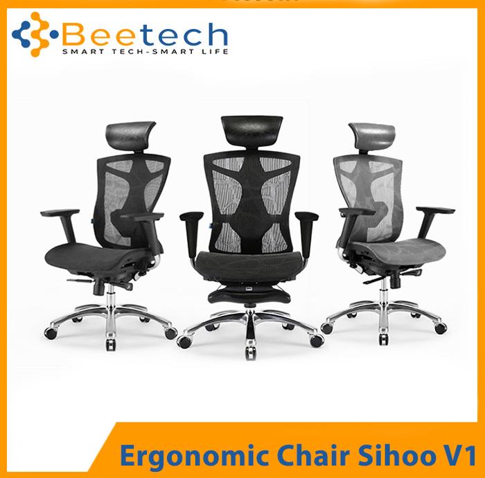 ghế công thái học Sihoo V1