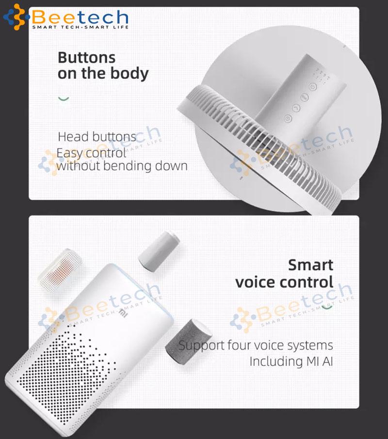Quạt Xiaomi Dream Maker Feel Fan Plus App Mihome