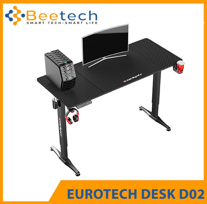 Bàn tăng giảm chiều cao Gaming Desk Eurotech D02