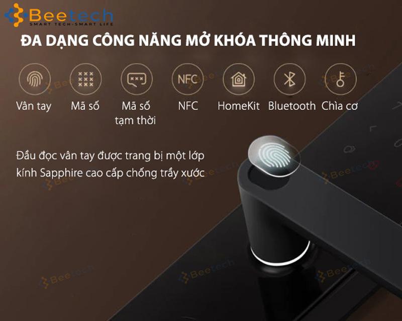 Khóa Cửa Vân Tay Thông Minh Xiaomi Mijia Smart Door Lock 1S 2021